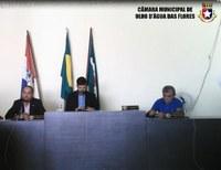 Câmara aprova Projeto e encaminha veto do Poder Executivo Municipal para apreciação das Comissões.